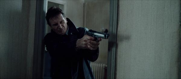 Bryan weilding a gun