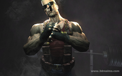 Duke Nukem Forever 2007 Trailer Shot